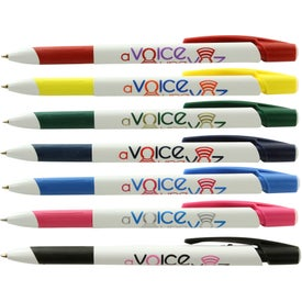 BIC Media Clic Grip Pens (Screen Print)