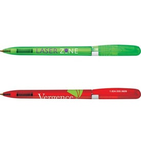 Bic Pivo Clear Chrome Pen for your School