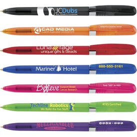 Bic Pivo Clear Chrome Pen