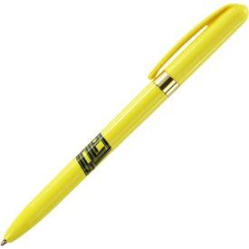 Bic Pivo Gold Pen for Customization