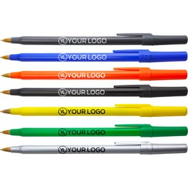 BIC Round Stic Pen (Screen Print)