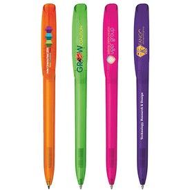 BIC Super Clip Clear Pen
