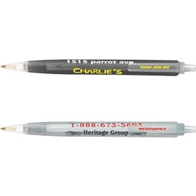 Bic Tri-Stic Clear Pen for Your Company