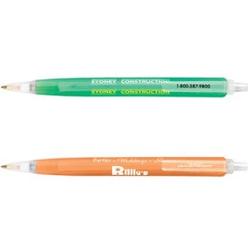 Promotional Bic Tri-Stic Clear Pen