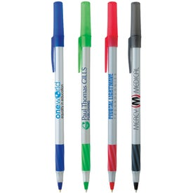 Bic Ultra Round Stic Grip Pen with Your Logo