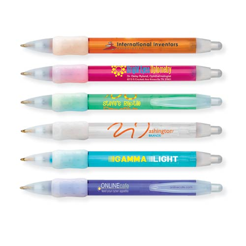 Bic WideBody Clear Pen with Ice Trim