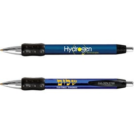 Bic WideBody Chrome Grip Pen for Your Company