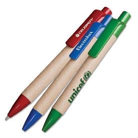 Big Eco Paper Barrel Pen
