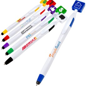 Billboard Pen and Stylus Branded with Your Logo