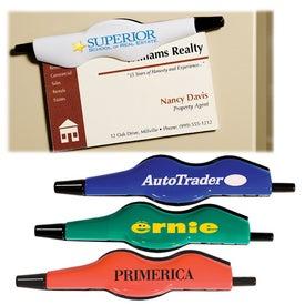 Imprinted Binder Clip Pen