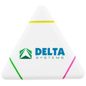 The BioGreen Tolinga Triangle Highlighter Printed with Your Logo