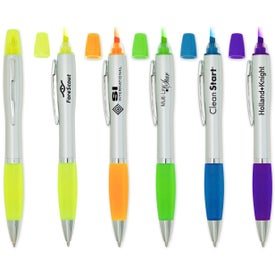 Boston Pen Highlighter with Your Slogan