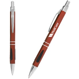 Classic Comfort Grip Pen with Your Slogan