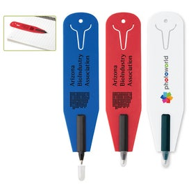 Clipper Eco Bookmark Pen