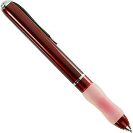 Metal Ball Point Pen With Contoured Grip for Your Organization