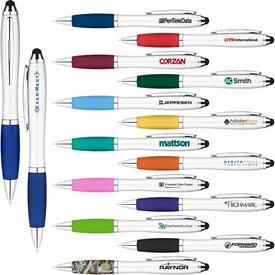 Curvaceous Ballpoint Stylus Pen