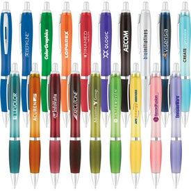 Curvaceous Translucent Ballpoint Pen