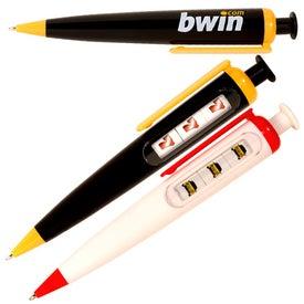 Custom Jackpot Pen for your School
