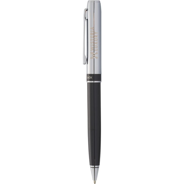 Black / Silver Cutter and Buck Executive Ballpoint Pen