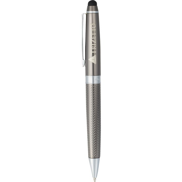 Graphite Cutter and Buck Pacific Dual Ballpoint Stylus Pen