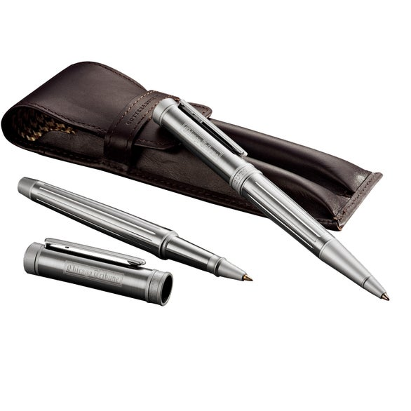 Silver Cutter and Buck Midlands Pen Set