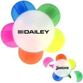 Monogrammed Daisy Highlighter