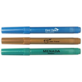 Damp Erase Glass Metallic Marker