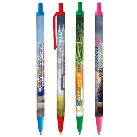 Bic Clic Stic Pen (Full Color Logo)