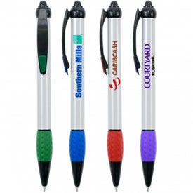 Dimple Pen Branded with Your Logo