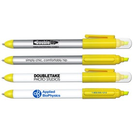 Double Up Double Ended Highlighter and Pen Combo