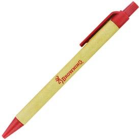 Earth Safe Barrel Pen Giveaways