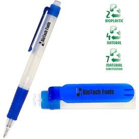 Logo Eco Green Writer Pen
