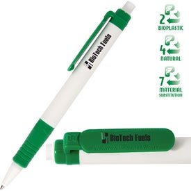 Eco Green Writer Pen Branded with Your Logo