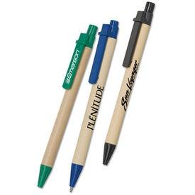 Eco Paper Barrel Pen