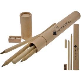 Company Eco Pen and Pencil Set