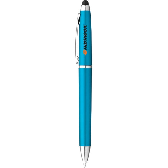 Light Blue Ellison Hotel Stylus Pen