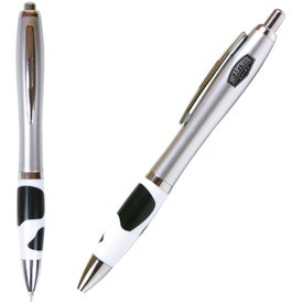 Promotional Emissary Click Pen - Cow