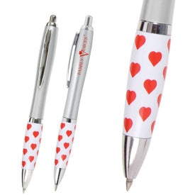 Emissary Heart Theme Click Pen