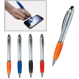 Promotional Emissary Duo Pen/Stylus for Touch Screen Devices