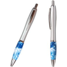 Cloud Theme Emissary Click Pen