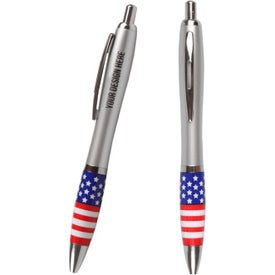 USA Theme Emissary Click Pen