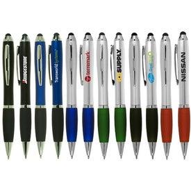 Custom Ergo Stylus/Ballpoint Pen for Touchscreen Mobile Devices