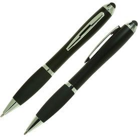 Monogrammed Ergo Stylus/Ballpoint Pen for Touchscreen Mobile Devices
