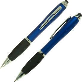 Ergo Stylus/Ballpoint Pen for Touchscreen Mobile Devices for Advertising
