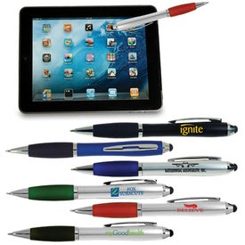 Ergo Stylus and Ballpoint Pen for Touchscreen Mobile Devices