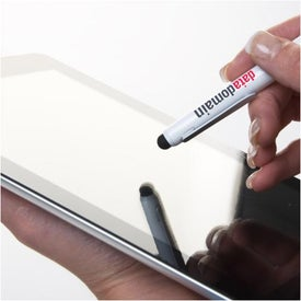 Imprinted Everyday Stylus and Ballpoint Combo
