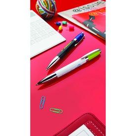 Branded Excalibur Black Pen
