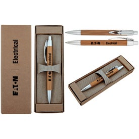 Printed Executive Bamboo Pen