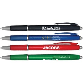 Executive Retractable Ballpoint Pen