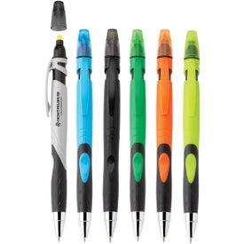 Fame Ballpoint Pen/Highlighter